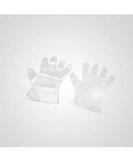Axtry Disposable Poly Gloves (Pack of 1000 Pcs)