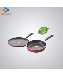 Bajaj Majesty Duo Cookware Set (Tawa & Frying Pan)