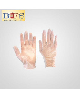 Bombay Safety Disposable Plastic Gloves (Pack of-100)