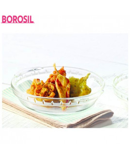 Borosil 20 cm Microwavable Plate-ICS22PL0108