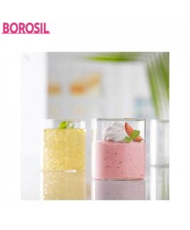 Borosil 120 ml Vision Glasses-Juice-BV430100008