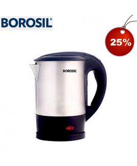 Borosil 1 Ltr Eva SS Body Electric Kettle-BKE1LSSB21