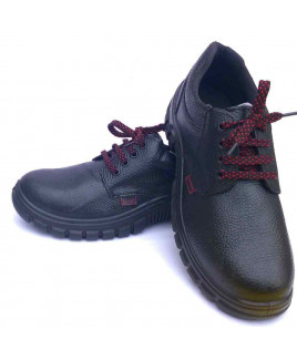 Concorde Size-7 PU Safety Shoes-786