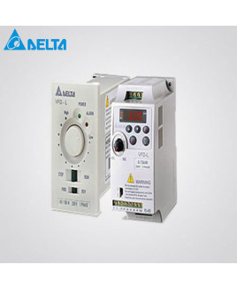 Delta Single Phase 1 HP AC Motor Drive Without Display/Remote-VFD007M21A-Z