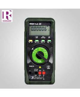 Rishabh Digital LCD Multimeter - Rish multi 20
