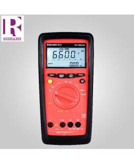 Rishabh Digital LCD Multimeter - 612