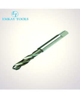 ET HSS 3 mm Diameter TIN Coated 6H(Tol) Spiral Flute Ground Thread Tap