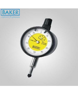 "Baker 0.2"" Plunger Type Dial Gauge-40-J41"