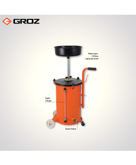 Groz 50 Ltr. Waste Oil Drain - Gravity Feed-WOD/50G