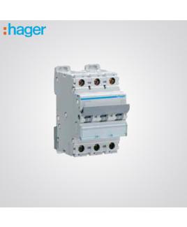 Hager 3 Pole 40A MCB-NBN340N