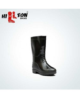 Hillson Size-9 Gumboot Double Density Safety  Shoe-Hitter