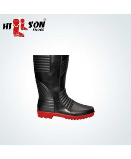 Hillson Size-8 Gumboot Double Density Safety  Shoe-Welsafe