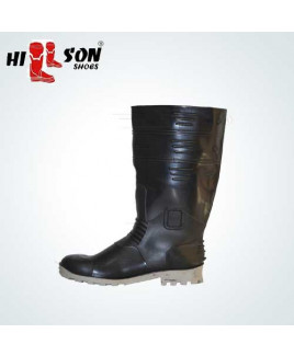 Hillson Size-9 Gumboot Double Density Safety  Shoe-Torpedo 212
