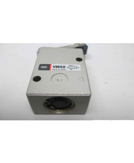 "SMC 1/4"" Push Botton ISO Valve-VM230-02-32G"