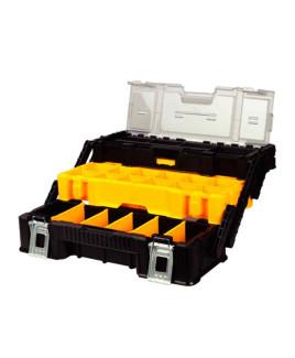 JCB 3 tray cantilever organizer tool box-22025091