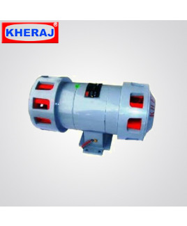 Kheraj Horizontal Double Mounting Single Phase Electrically Operated Siren-DS-100