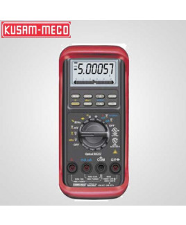 Kusam Meco 50,000/500,000 Counts Autoranging Digital Multimeter With Temp. Measurement-KM 857