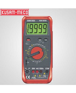 Kusam Meco Professional Grade Digital Multimeter-KM 6050