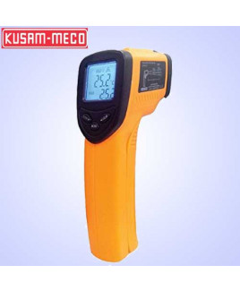 Kusam Meco Infrared Thermometer with Temperature range -50°C to 380°C & DS Ratio 12:1-IRL-380