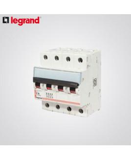 Legrand 4 Pole 6A DX3 MCB-4086 91