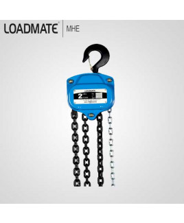 Loadmate 2 Ton Capacity Chain Pulley Block-CPB 0201