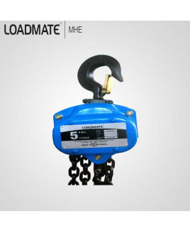 Loadmate 5 Ton Capacity Chain Pulley Block-CPB 0502