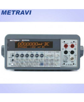 Metravi 6-1/2 Digits Bench Type Multimeter-M-3500