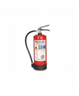 Minimax ABC Dry Powder (Stored Pressure) Fire Extinguisher 4Kg- MAP 50/90
