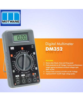 Motwane 2000 Counts Digital Multimeter-DM352