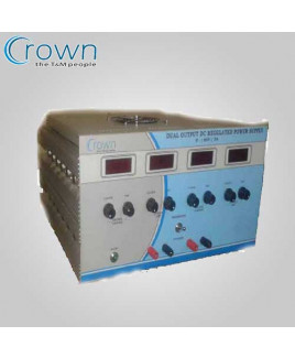 Crown 0-30VDC,0-(±15)VDC & 0-5VDC Multi DC Regulated Power Supply-CES 602A