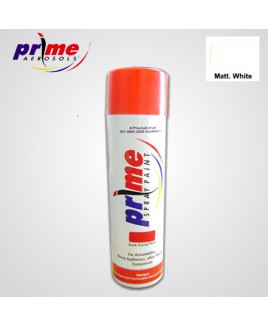 Prime Aerosol Matt. White All Purpose Spray Paint-Pack Of 25