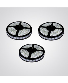 Ryna White Colour LED Strip Light 5 Meters Each (Non Water Proof)-Pack of 3