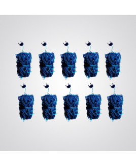 Ryna 4m Blue Color Rice Light-Pack of 10