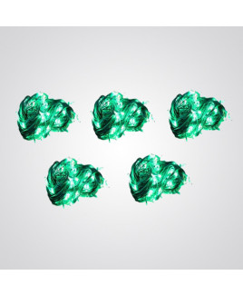 Ryna 13m Green Color Rice Light-Pack of 5