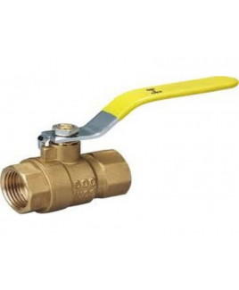 "Sant 1/4""  Forged Brass Ball Valve, IS-6912 : 1/4"