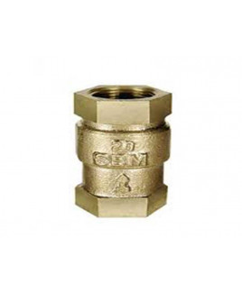 "SBM 1/2""  Bronze Vertical Lift Check Valve, IS-318 : 1/2"