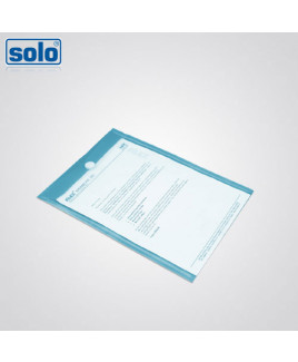 Solo A4 Size Velcro Document Envelope-CH 109