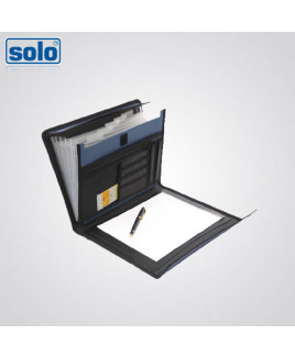 Solo A4 Size Executive Portfolio - 6 Sections With Pad-EF 886