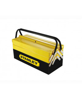 Stanley Cantilever Tools Box 5 Tray Double Handle-1-94-738
