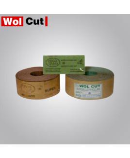 Wolcut 38mm Grit 80-200 Emery Roll-50m Long