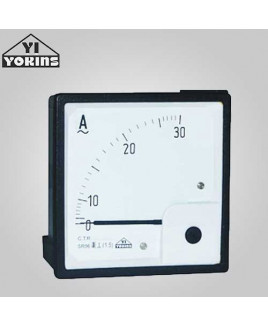 Yokins 25-50A Moving Coil Analog Panel Ammeter-MR 144