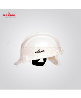 Karam Nap Type White Safety Helmet-PN 501