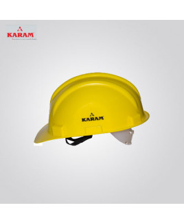 Karam Nap Type Yellow Safety Helmet-PN 501