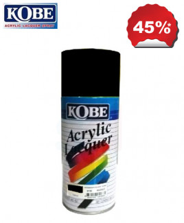 Kobe Black Acrylic Lacquer Spray Paint