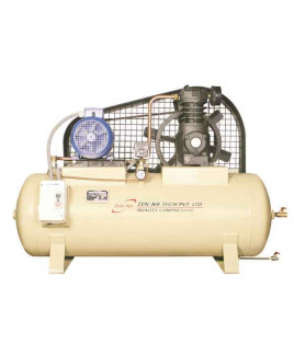 Zen Air Tech 3HP 200L Single Stage Air Cooled Air Compressor-75 S